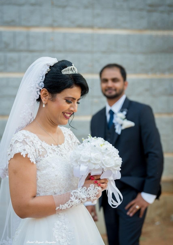 White Aline Wedding Gown