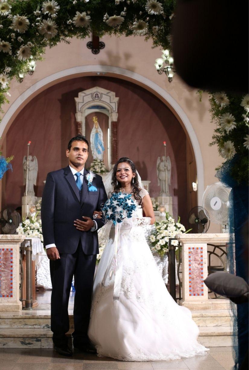 Aline Christian Wedding gown