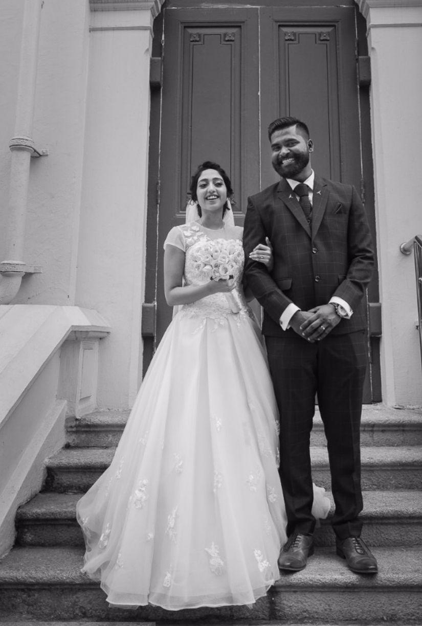 Aline White Bridal Gown