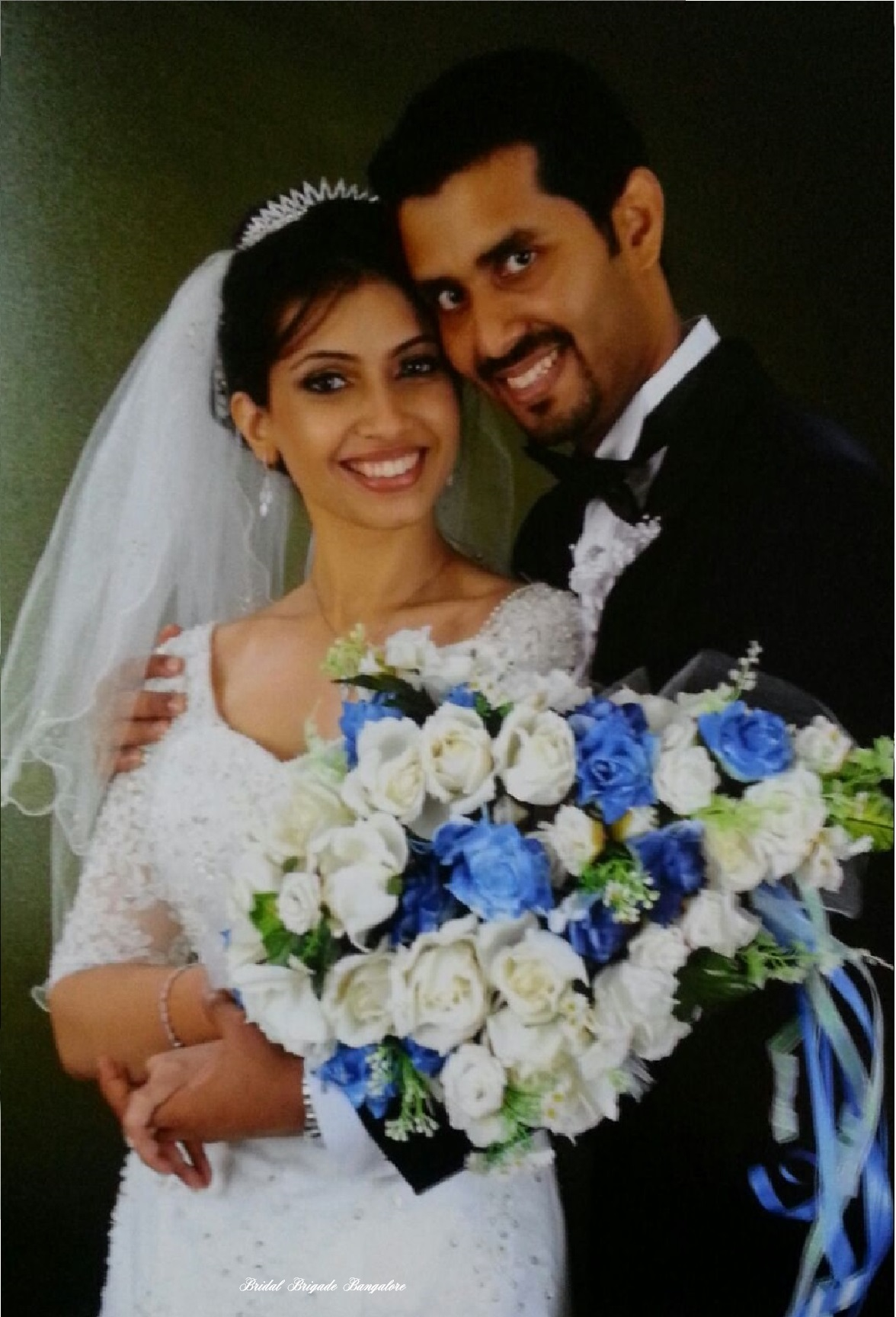 white wedding gowns in Bangalore