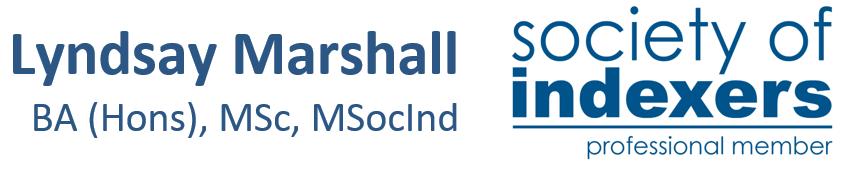 Lyndsay Marshall BA (Hons) MSc MSocInd and Logo
