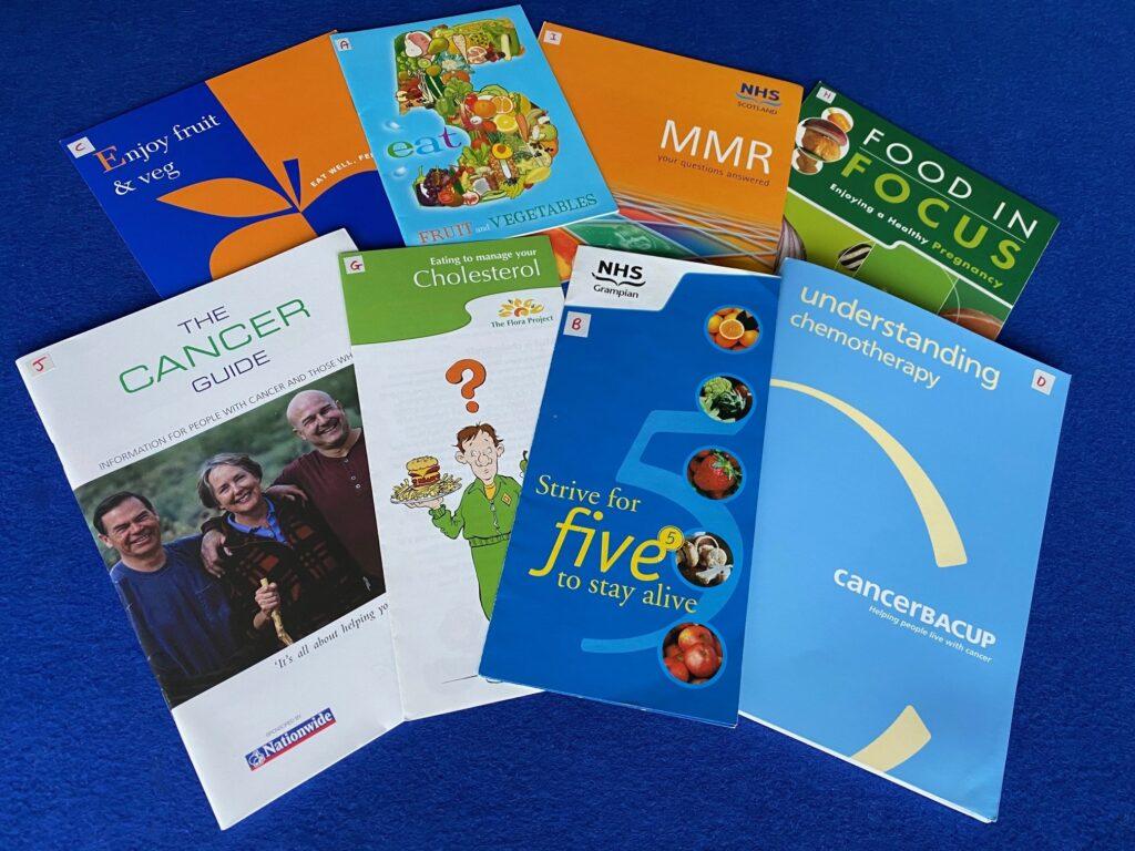 health information leaflets