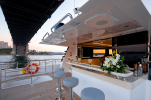 MY ONEWORLD Upper Aft Deck Bar