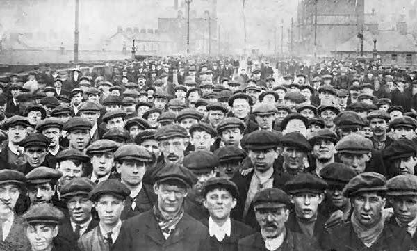Metamorfosis del proletariado: de la lucha de clases al desahucio