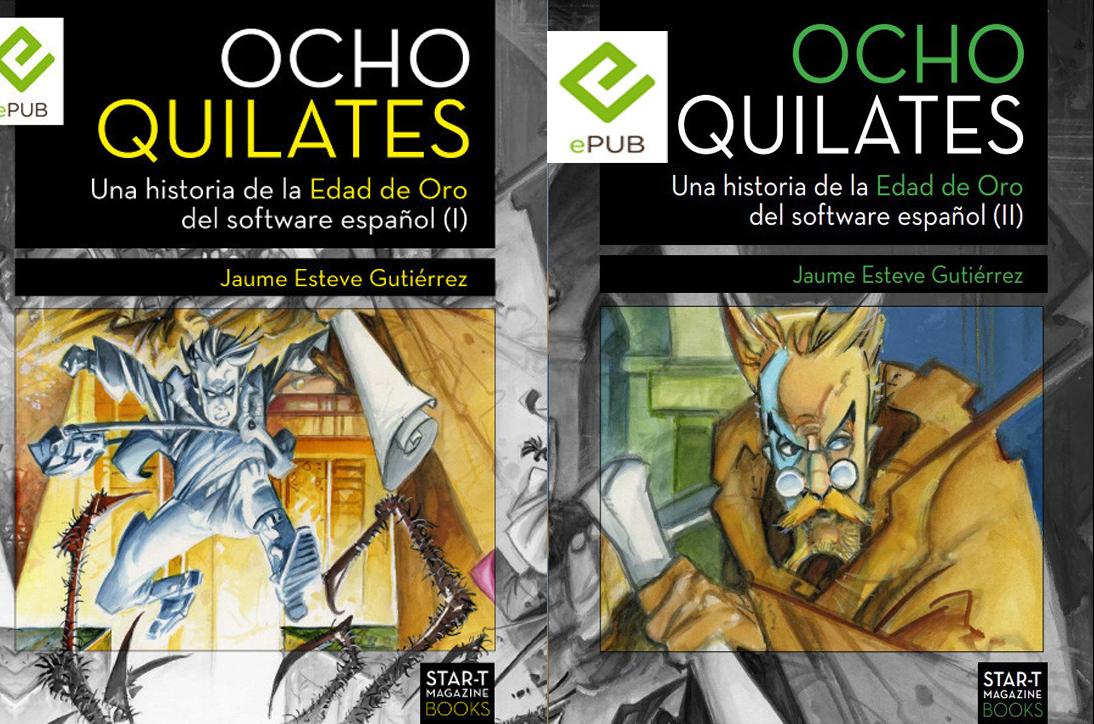 Ocho Quilates: Un libro para los que jugábamos con cacharros ochenteros
