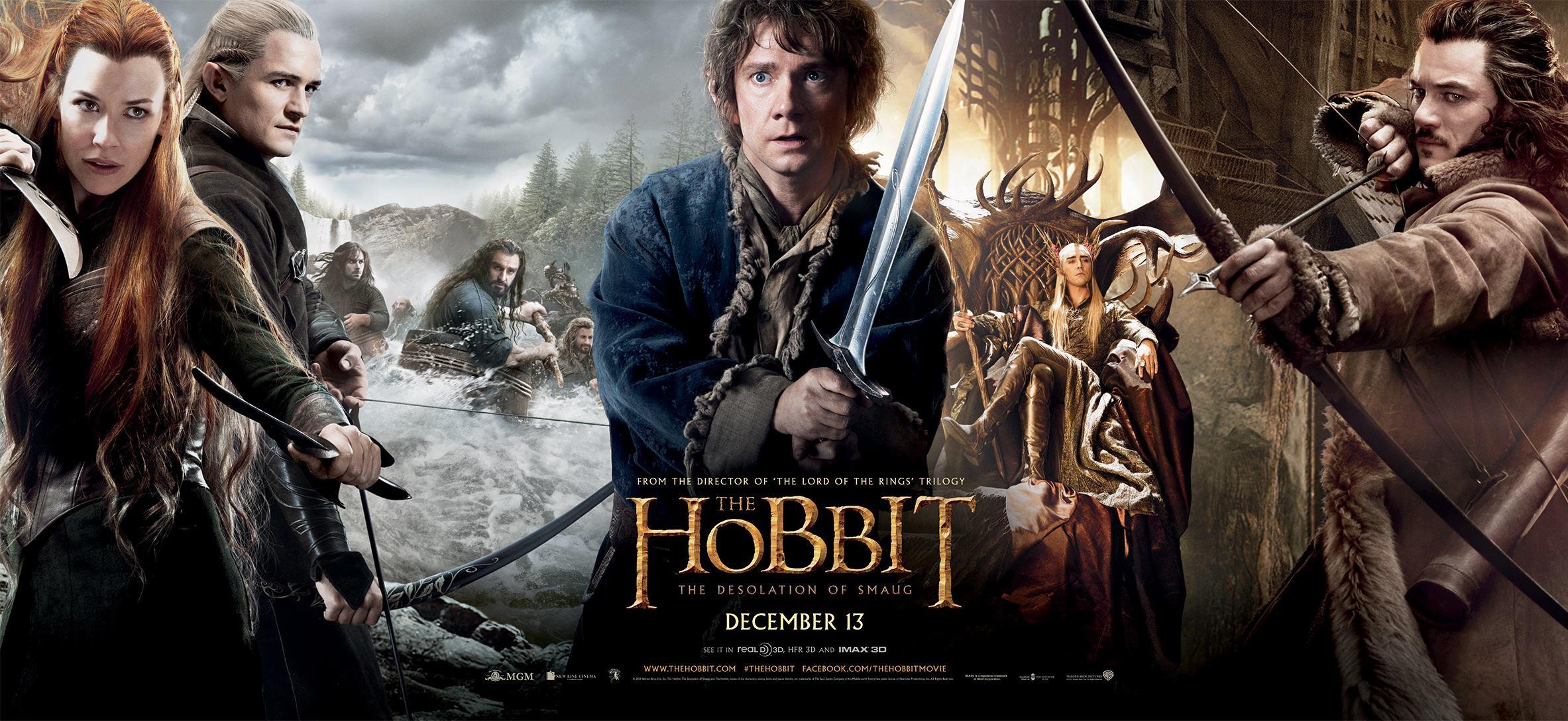 Trilogía de hostias para El Hobbit (II): Para desolación la mía