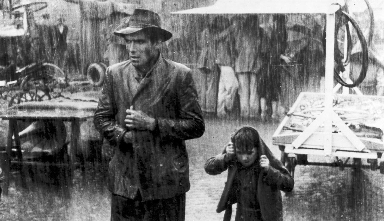Ladrón de bicicletas: miseria y cine mudo, una aproximación