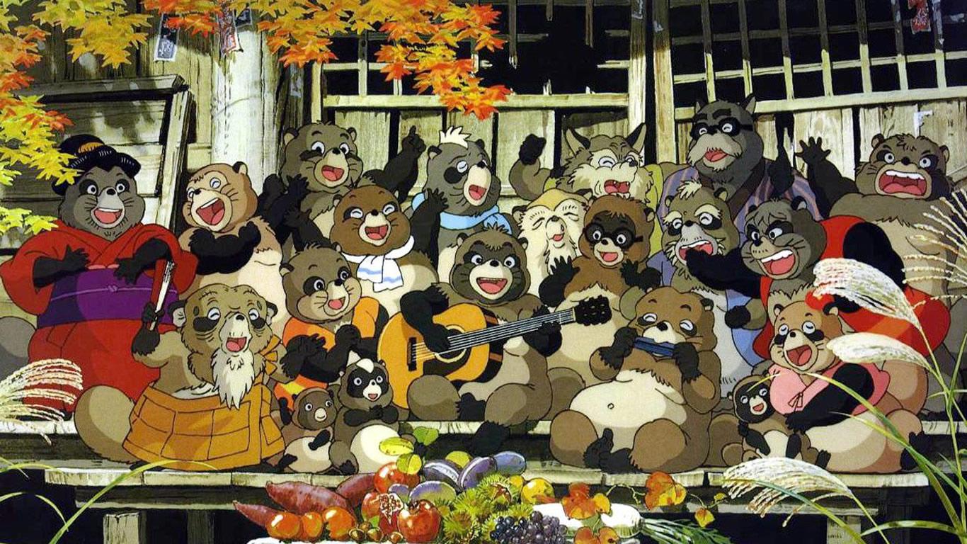 Pom Poko – Ghibli y los tanukis