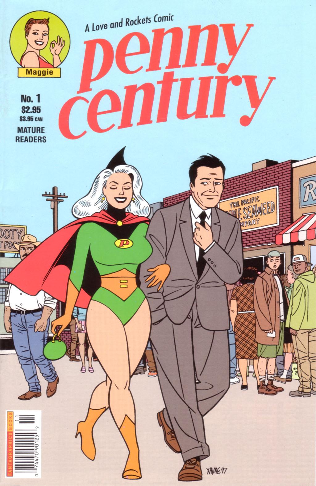 Las locas de Jaime Hernández: Penny Century.