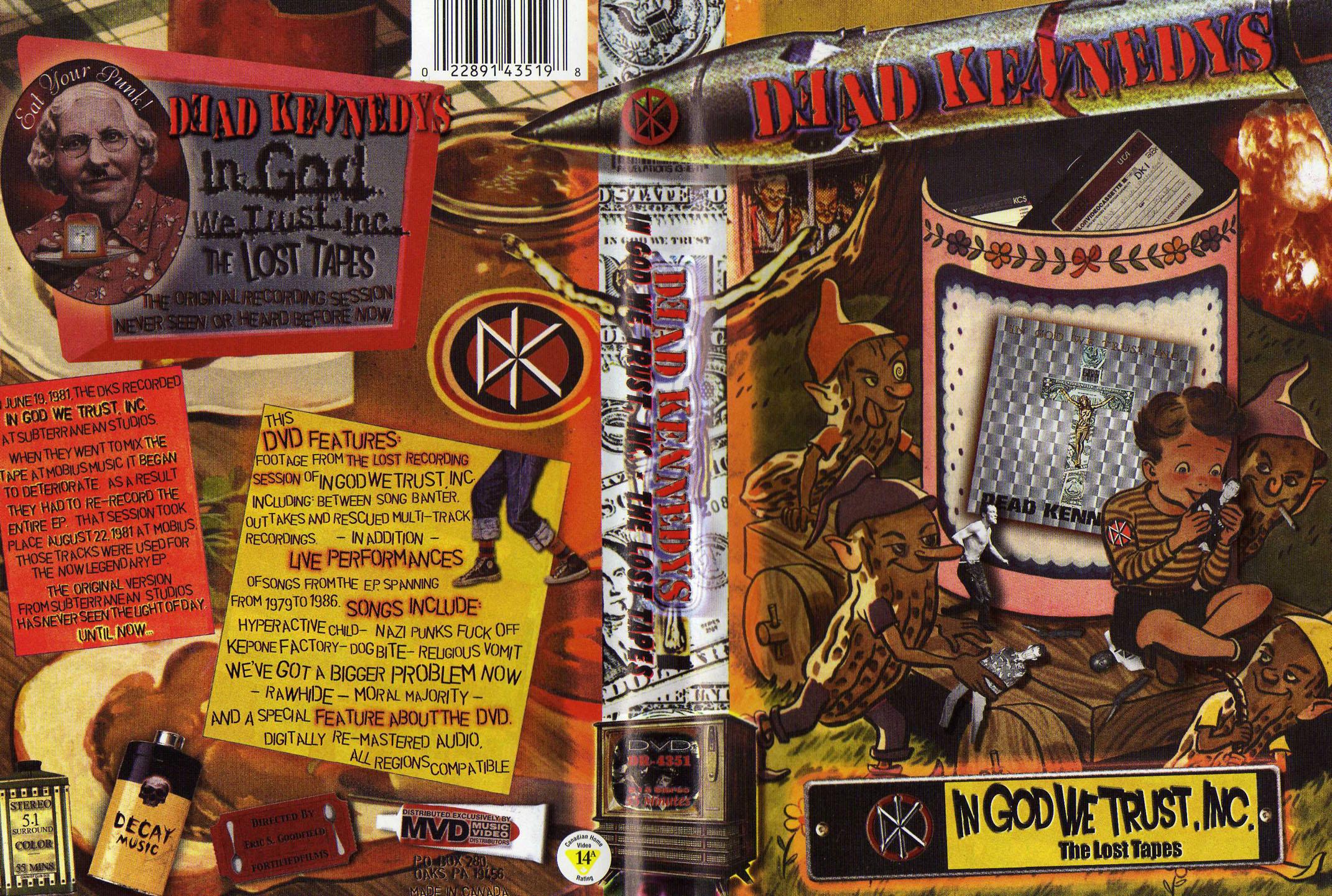 Dead Kennedys: «In God We Trust Inc.»