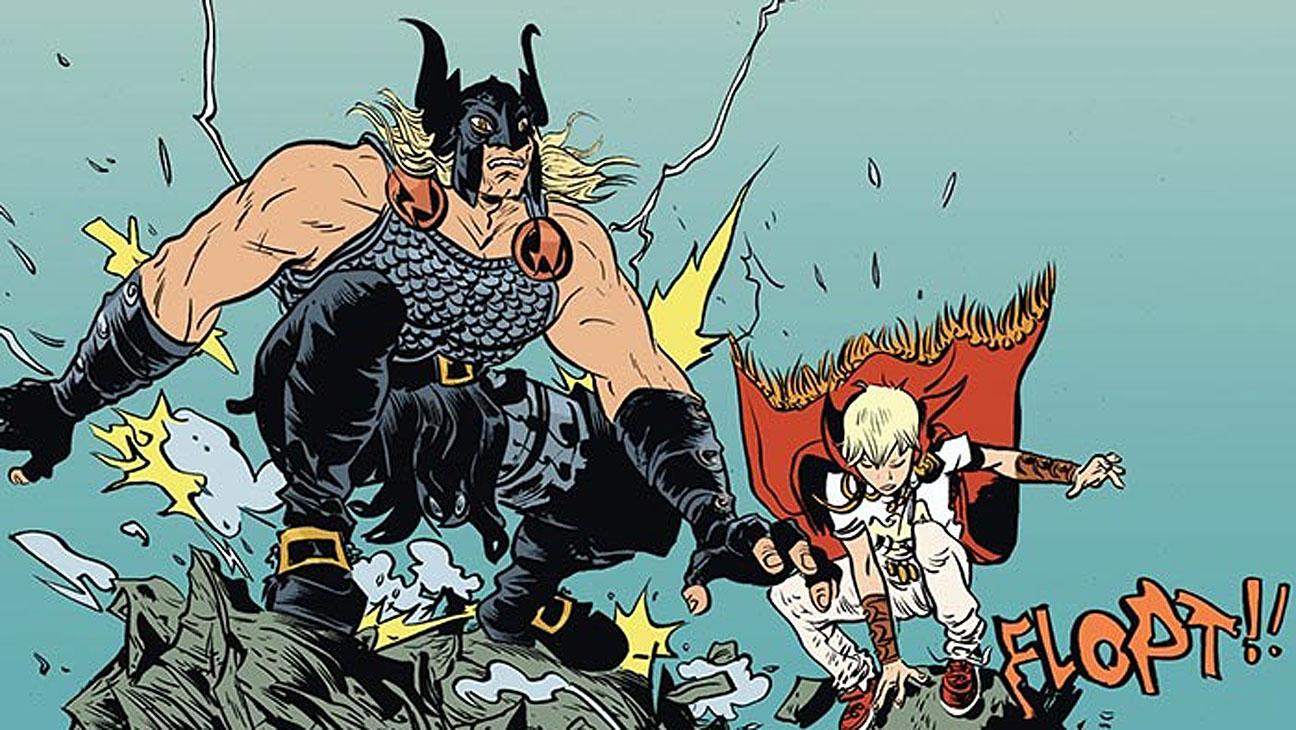 Paul Pope: «Battling Boy»