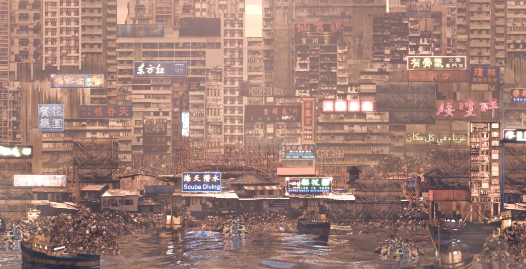 «New City: The City in the Sea» de Liam Young