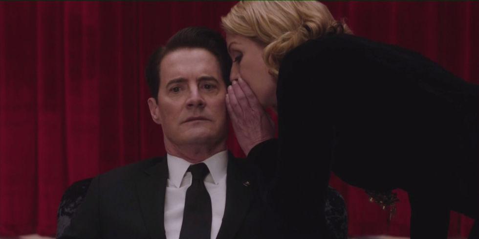 Twin Peaks. Temporada 3. Episodio 1: buenas noches, cariño mío, que tengas dulces pesadillas