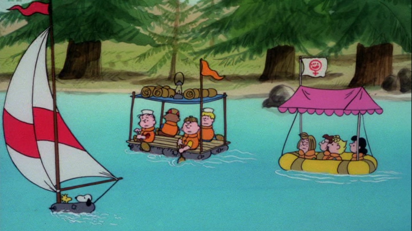 ¡Escapa, Charlie Brown!