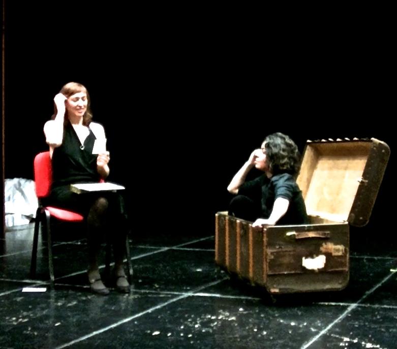 La poesía inédita de Victòria Gras a escena