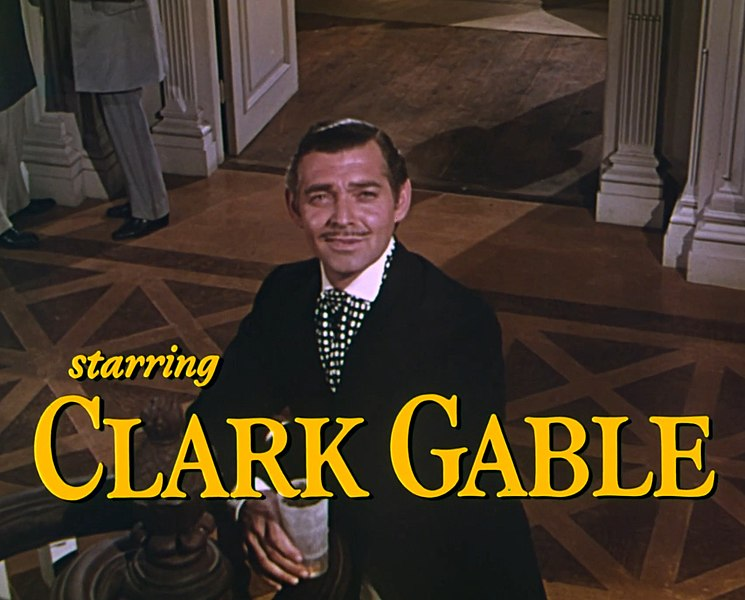 Clark Gable, «El Rey» de Hollywood