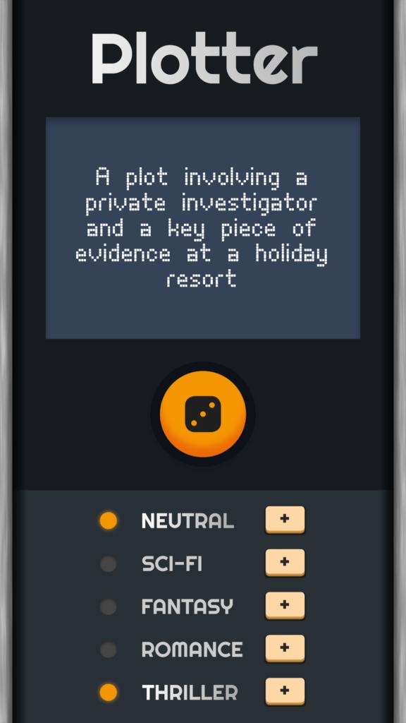 Interface of Plotter.