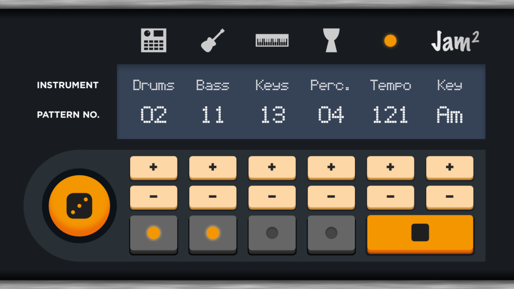 Interface of Jam2.