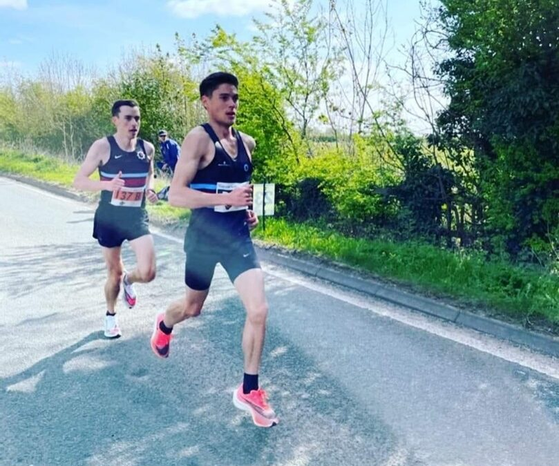 Road and track in the UK and US for BBHAC athletes this week