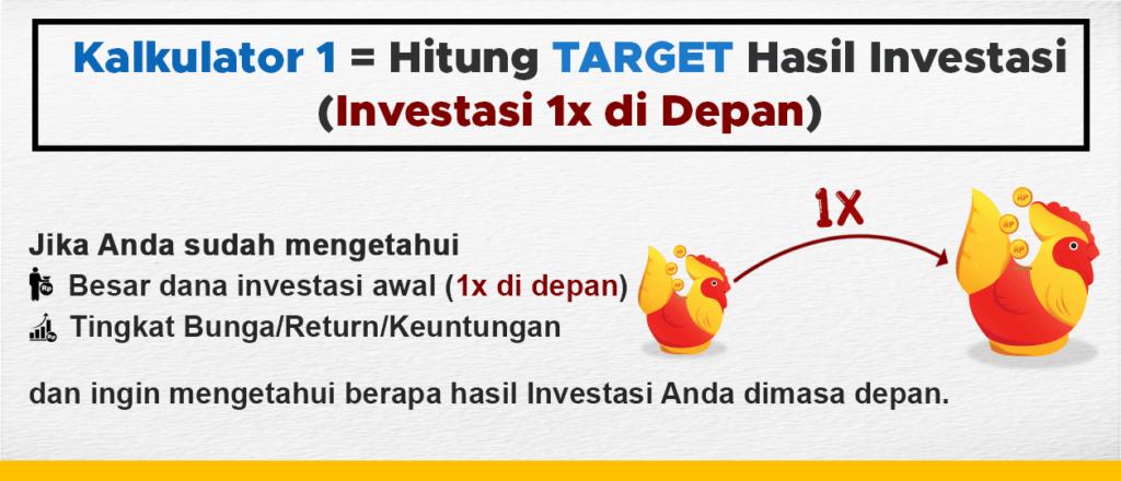 Kalkulator Investasi Target