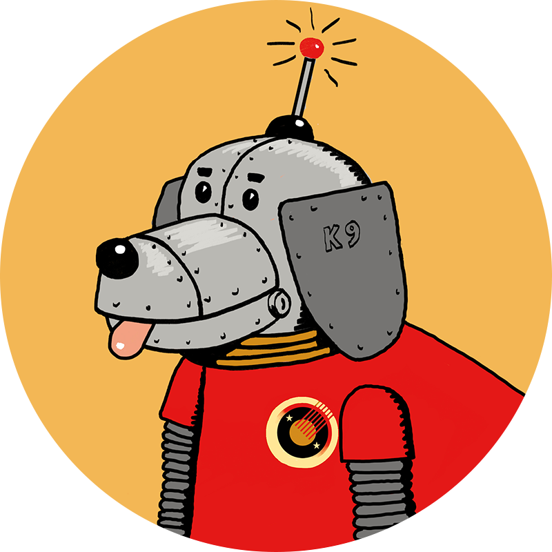 Fidget IT team dog