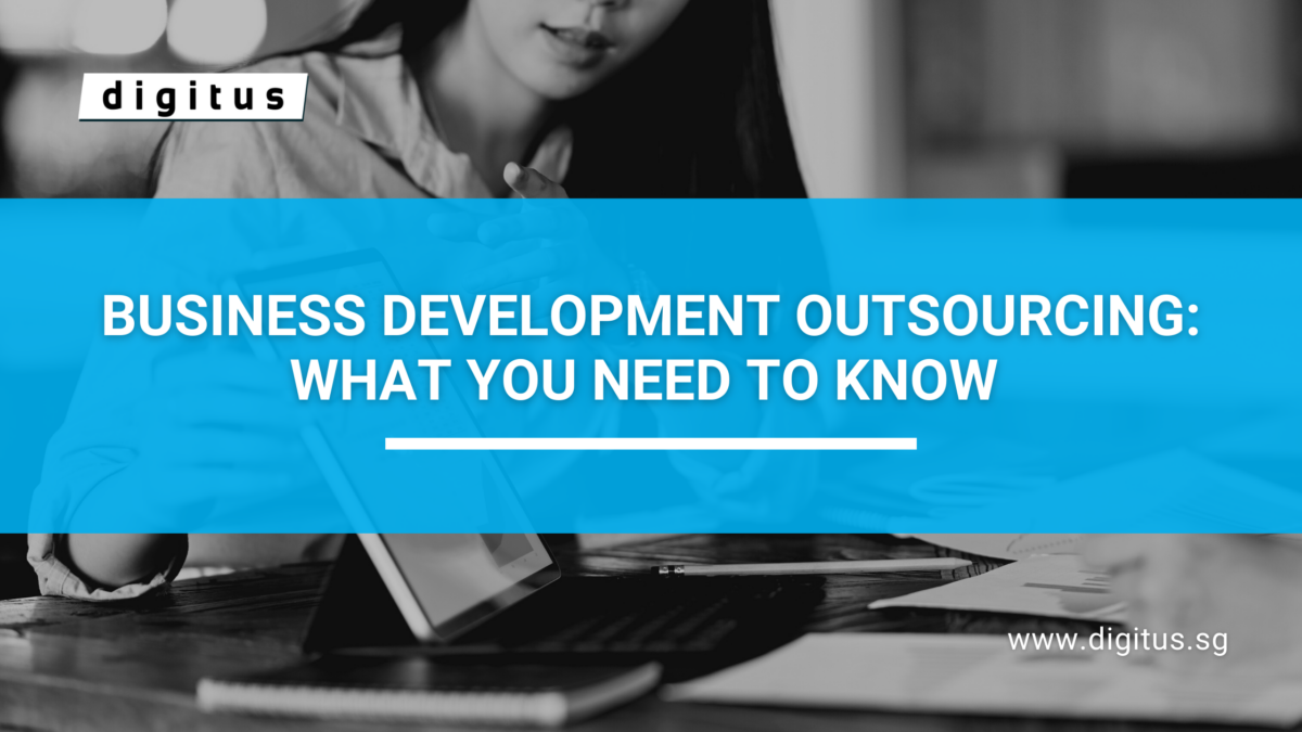 Title banner for Business Development Outsourcing Blog