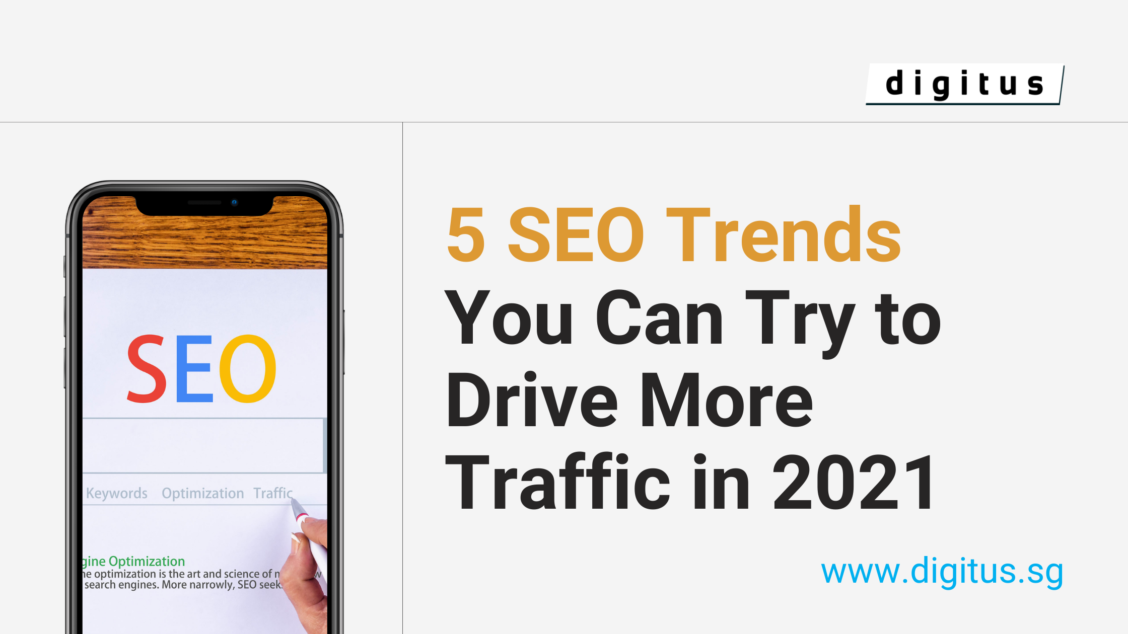 5 SEO Trends You Can Try to Drive More Traffic in 2021