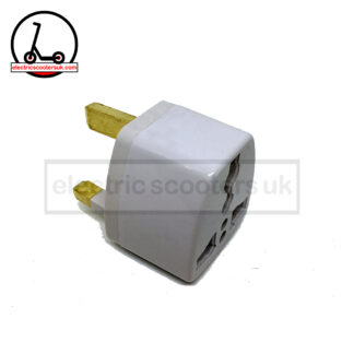US EU AU to UK power adapter side