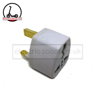 US EU AU to UK power adapter side