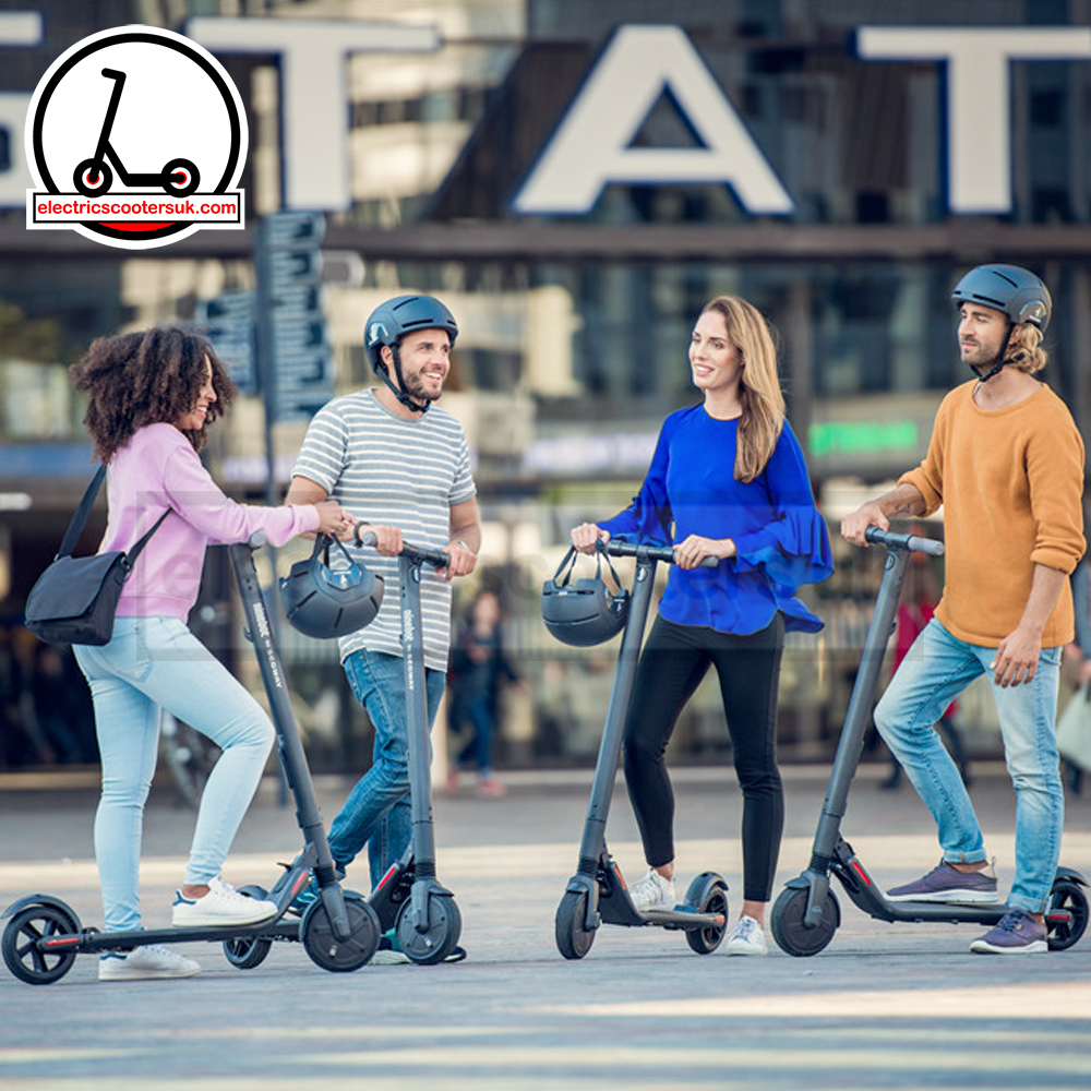 Ninebot by Segway Kickscooter ES2 - friends