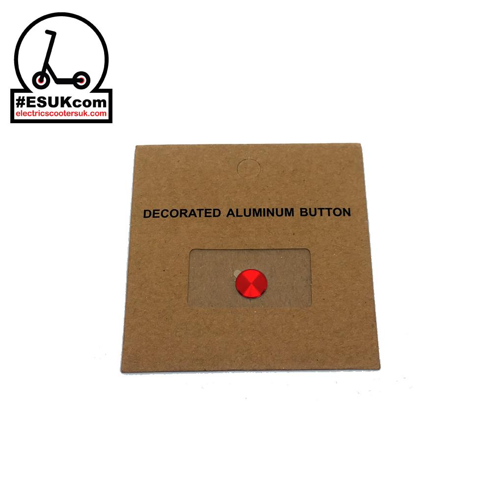M365 Power Button Sticker - Red