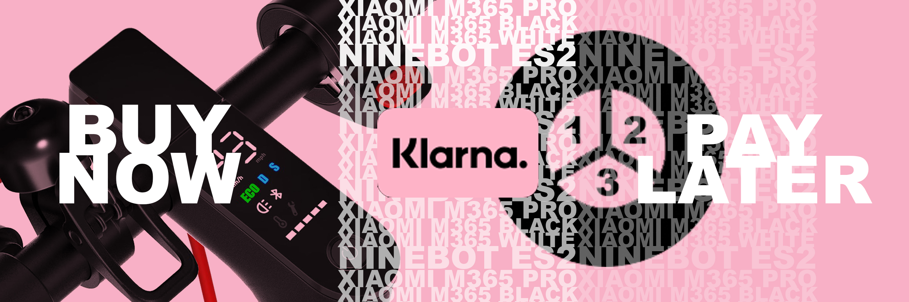 Electric Scooters UK accept Klarna