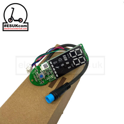 M365 Pro Bluetooth Dashboard