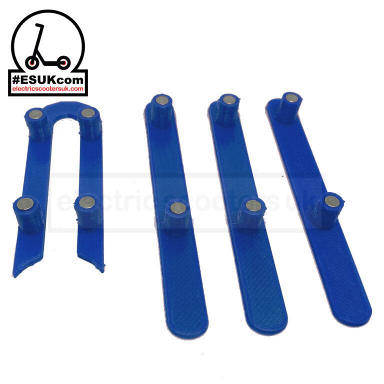 Blue M365 Wheel Cover Plug