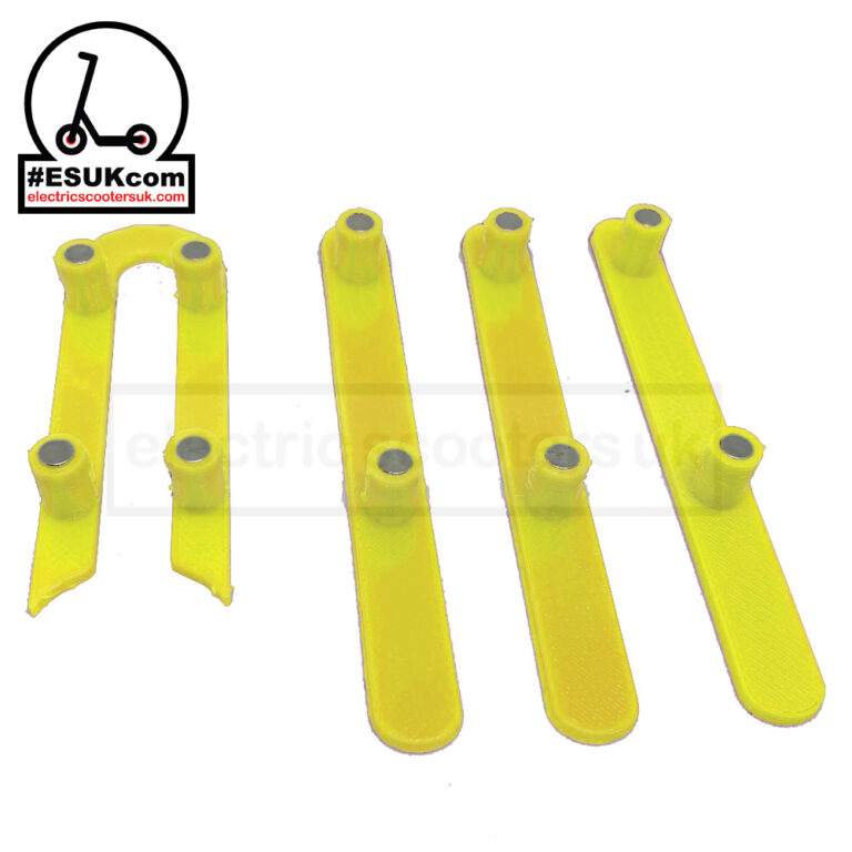 M365 Wheel Cover Plugs - Yellow