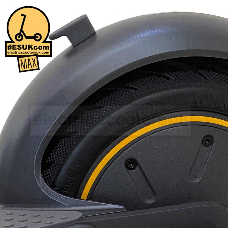 Ninebot Max G30 Close Rear Wheel