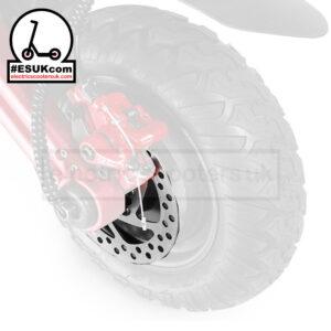 G-Booster 14mm Brake Disc Close