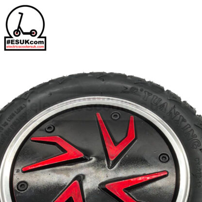 G-Booster Tyre and Wheel Hub - Close