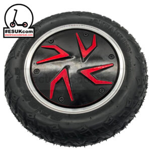 G-Booster Tyre and Wheel Hub - Black and Red