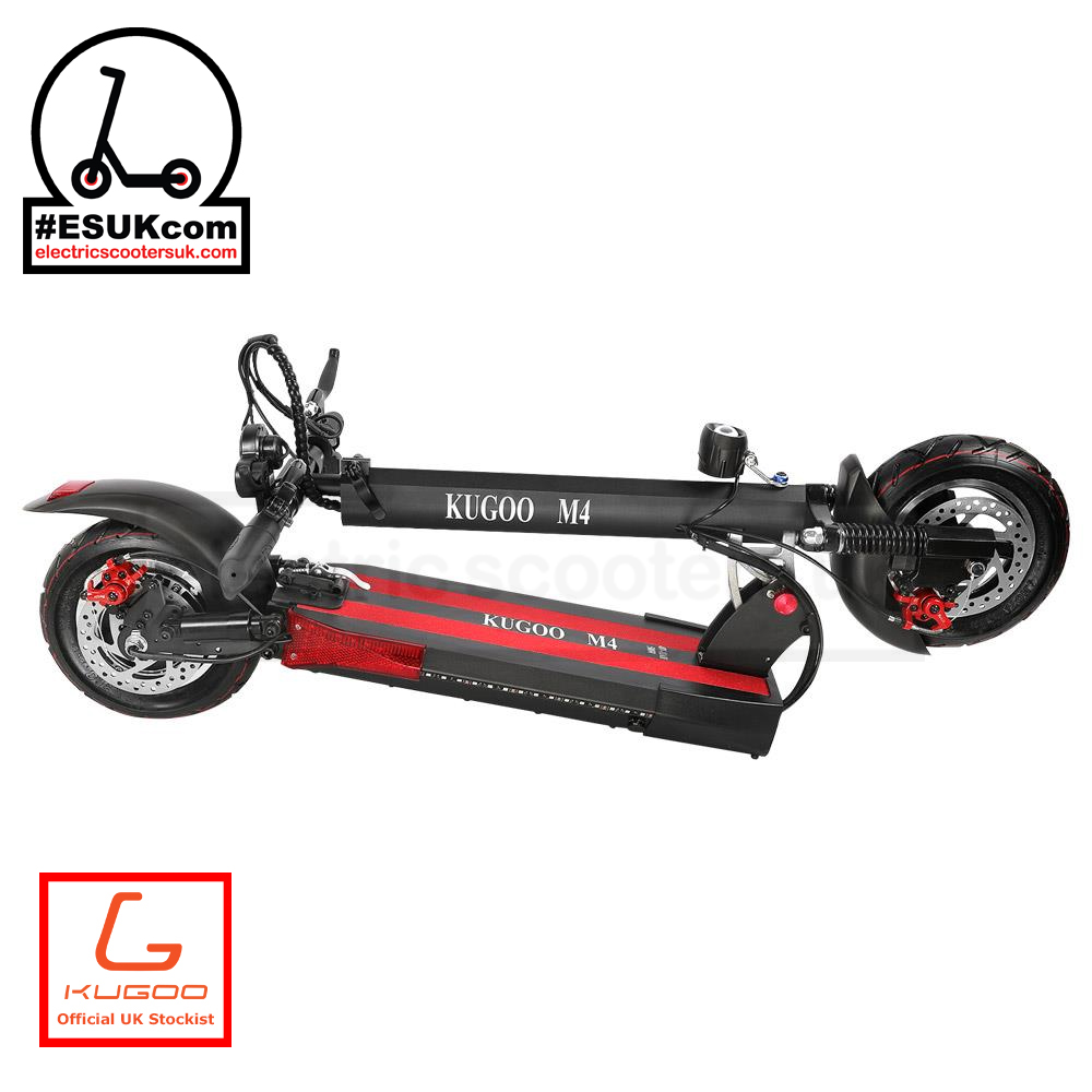 Kugoo M4 Electric Scooter Folded