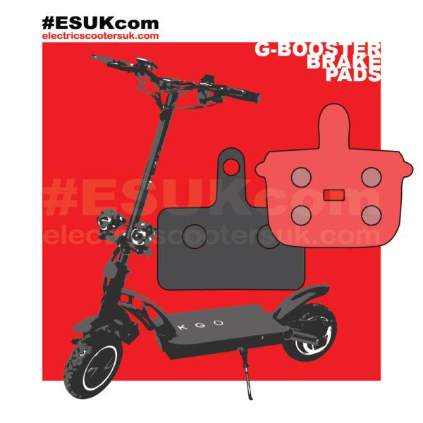 G-Booster rectangle brake or pot shape