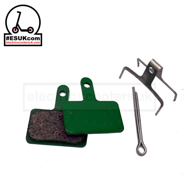 Kugoo G-Booster Ceramic Brake Pads with pin and clip