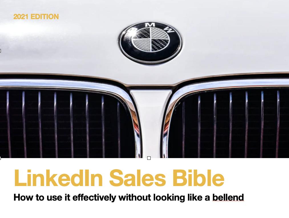 linkedin sales bible pdf
