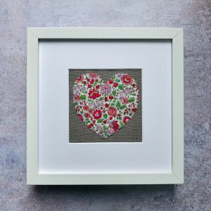 Liberty of London Embroidered Art