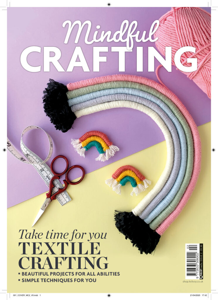 Cover of Mindful Crafting Magazine