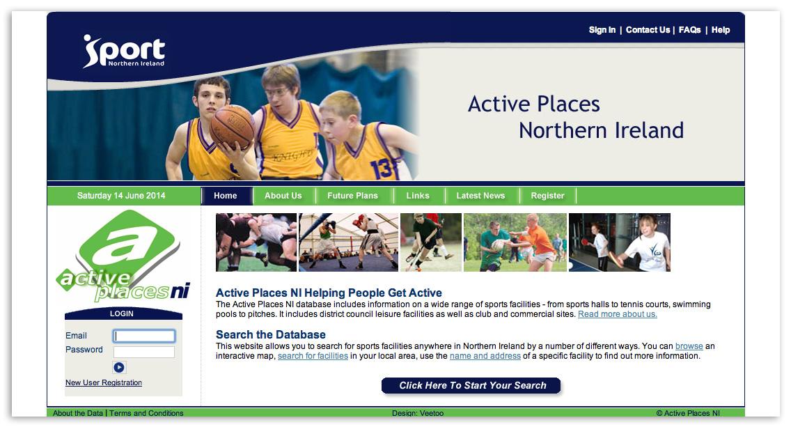 Website designer Belfast design 4d by veetoo design studio Northern Ireland