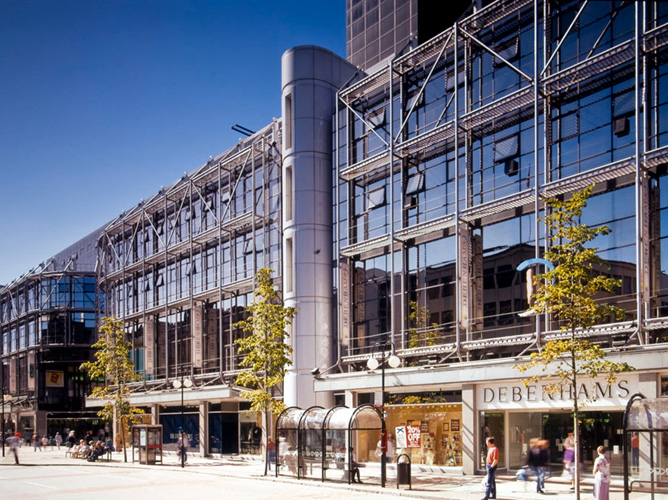 Architectural photography photograph for Castlecourt photo icon by veetoo design, photo and video studio Northern Ireland