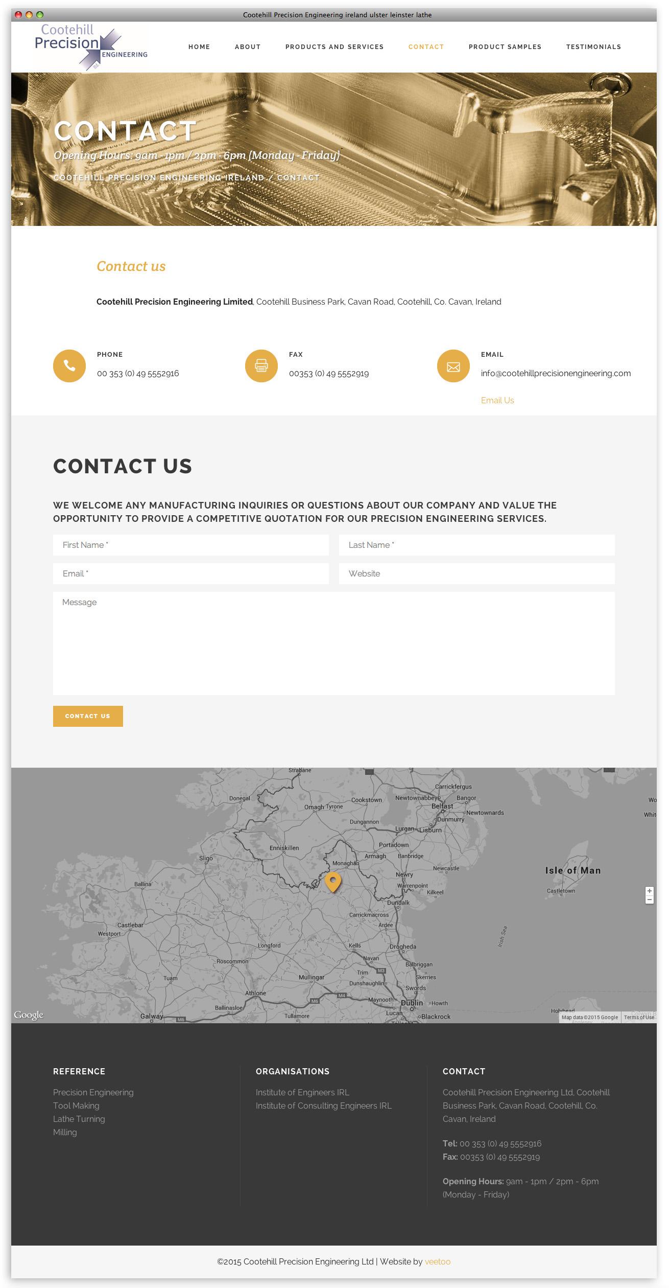 Website designer Belfast design 11 image 5 by veetoo design studio Northern Ireland
