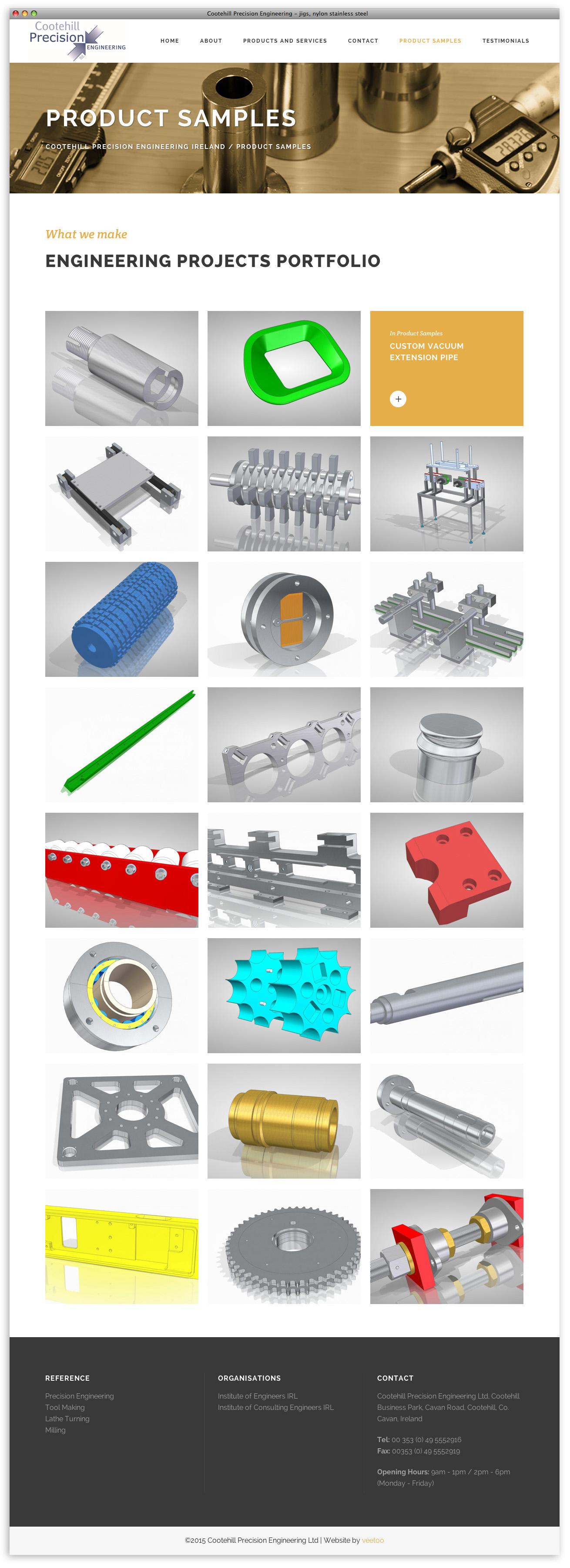 Website designer Belfast design 11 image 6 by veetoo design studio Northern Ireland