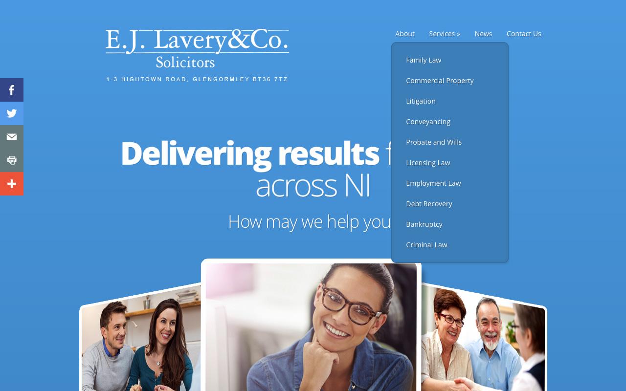 Web designers Belfast project overview EJL 2.
